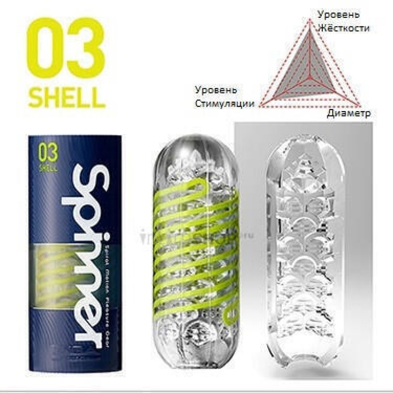 Мастурбатор Tenga Spinner Shell (фото 2)
